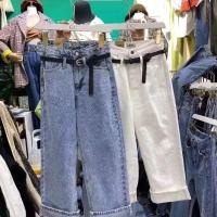 牛仔直筒裤