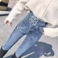 牛仔小脚裤