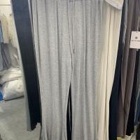 Weiwei莫代尔棉微喇长裤