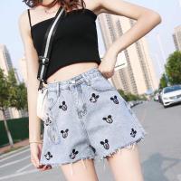 夏款米奇刺绣短裤