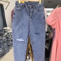 夏装牛仔长裤