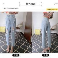 兰色牛仔裤