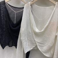 后背珍珠针织