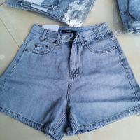 夏款牛仔短裤