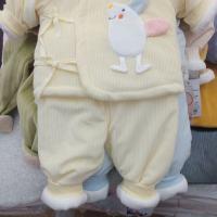 米奇谷夹棉系带两件套625062
