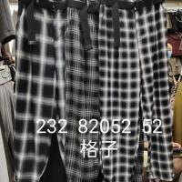 232格子裤子
