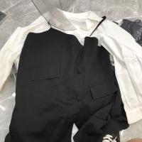 秋季衬衫裙两件套