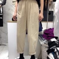 灯芯绒长裤