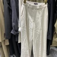 韩国白色西装裤子