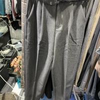 高腰西装裤