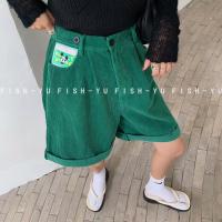 F灯芯绒中裤