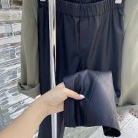 斜分割皮裤