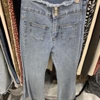 喇叭牛仔裤