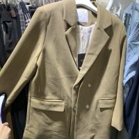 加绒假两件西装外套