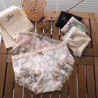 女式蕾丝盒裤
