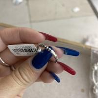 素圈骨节戒指