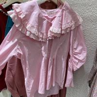 娃娃领衬衣裙