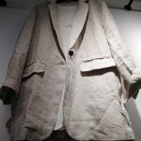 亚麻西服外套