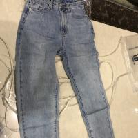 春款牛仔长裤