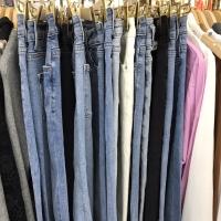 春款杂牛仔裤