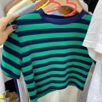 条纹短袖T恤