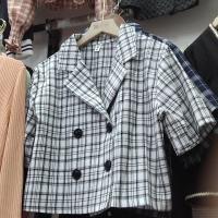 锦涵格子外套