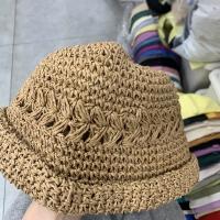 草编渔夫帽
