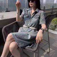 夏季短袖连衣裙